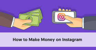 How make money from Instagram?